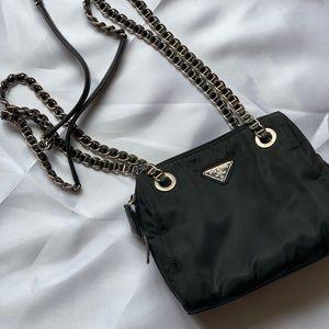 f7425fd416e4c9 Women Prada Nylon Chain Shoulder Bag on Poshmark